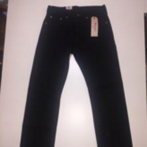 Levi's 505 Regular Black Jeans